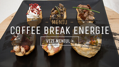 Meniu Coffee Break Energie - In Bucate Catering