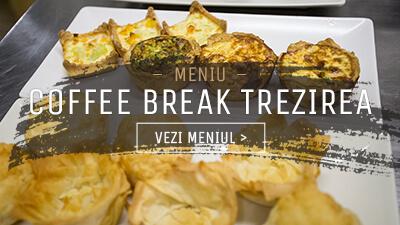 Meniu Coffee Break Trezirea - In Bucate Catering