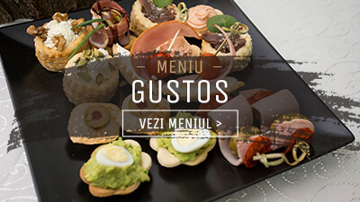 Meniu Finger Food Gustos - In Bucate Catering