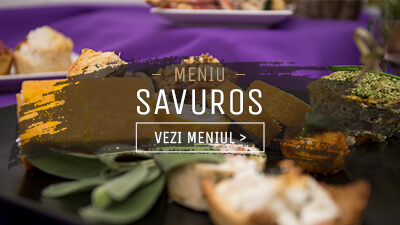 Meniu Finger Food Savuros - In Bucate Catering