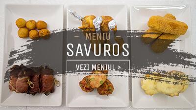 Meniu Platouri Calde Savuros - In Bucate Catering