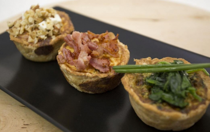 Mini Quiche - made by Chef Ciprian